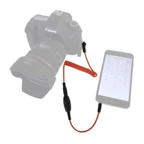 Miops déclencheur pour Smartphone MD-C1 avec câble C1 pour Canon