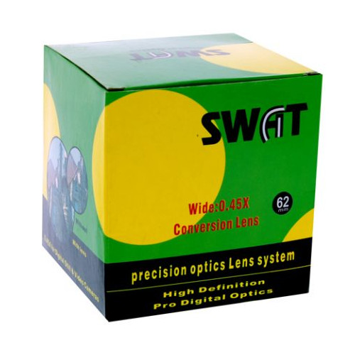 Swat Convertisseur grand angle / macro 0.5x 62 mm