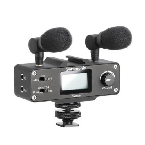 Saramonic Audio Interface CaMixer for DSLR
