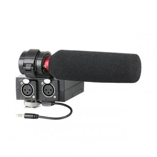Saramonic Kit XLR adaptateur audio MixMic avec Micro