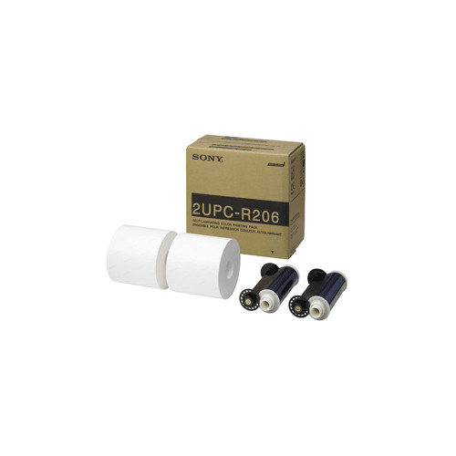 Sony-DNP papier 2UPC-R206 2 rouleaux à 350 impressions 15x20 pour UP-DR200