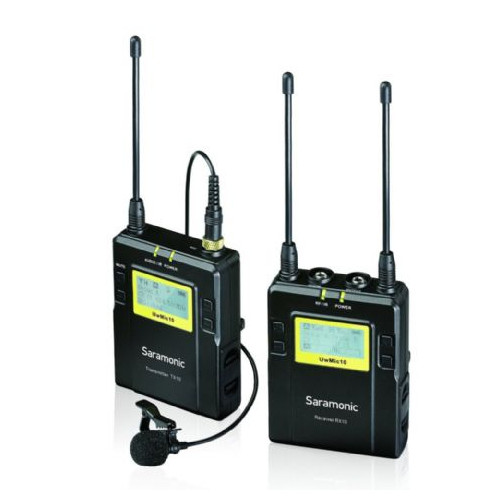 Saramonic Kit Micro cravate UwMic10 TX10 + RX10 UHF sans fil