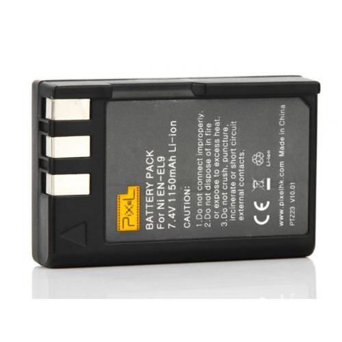 Pixel Batterie EN-EL9 pour Nikon