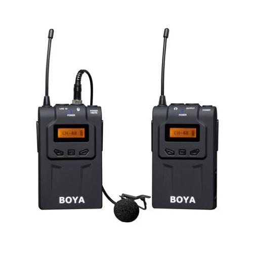 Boya UHF Micro cravate sans fil BY-WM6