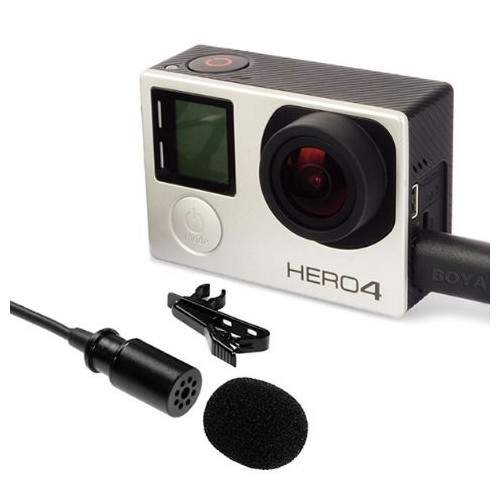 Boya GoPro Pro Micro cravate BY-GM10