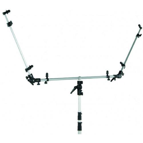 Falcon Eyes Support pour réflecteur triple PRTK-2436 avec adaptateur Spigot
