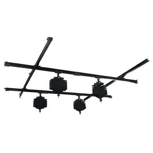 Falcon Eyes Kit Rails plafond système pour éclairage studio B-3030C 3x3 m incl. 4 Panthographes
