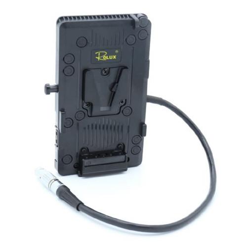 Rolux Plateau pour batterie V-Mount RL-CAGII pour Canon C300 Mark II