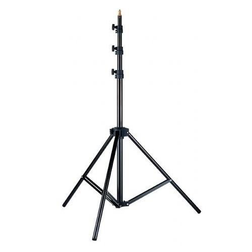 Linkstar Pied d'éclairage L-26M 92-266 cm Suspension pneumatique
