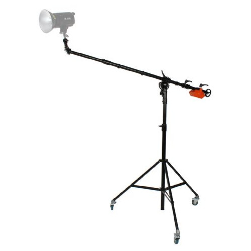 StudioKing Kit professionnel bras girafe FT-1801B avec support pivotant