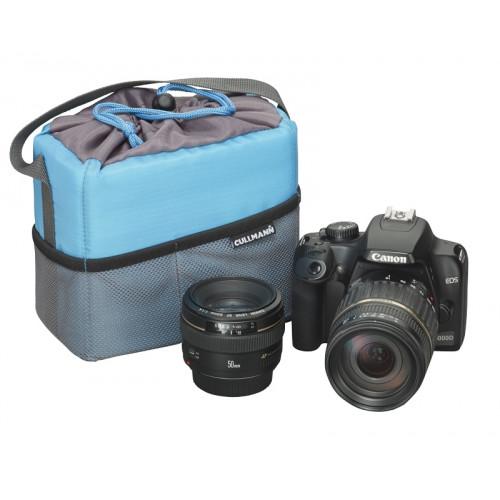 Cullmann Camera container mousse Small-3 litres GrisBleu 16x14x7,5cm