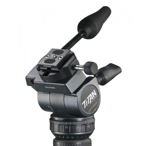 Cullmann TITAN TW96 Tête Video, bloc auto-centreur OX366