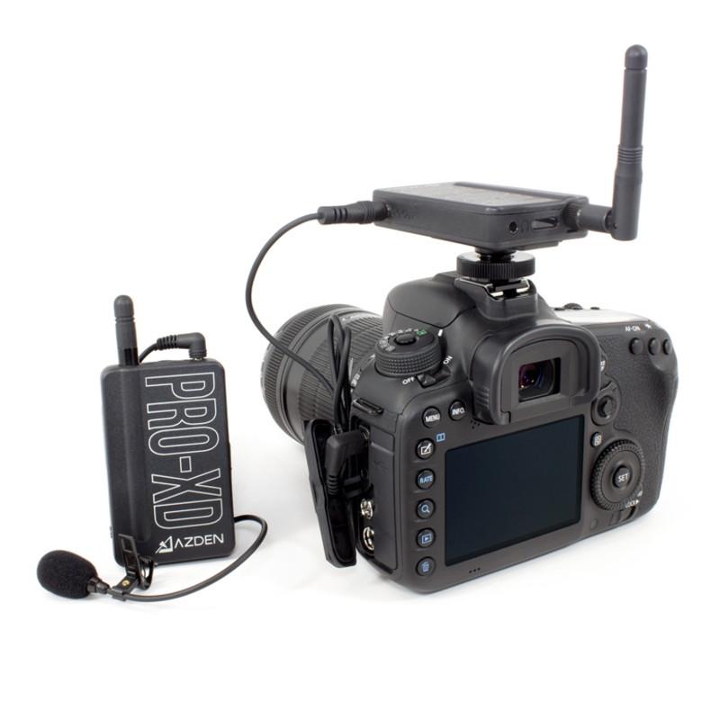 Azden Microphone PRO XD sans fil compact 2.4 GHz