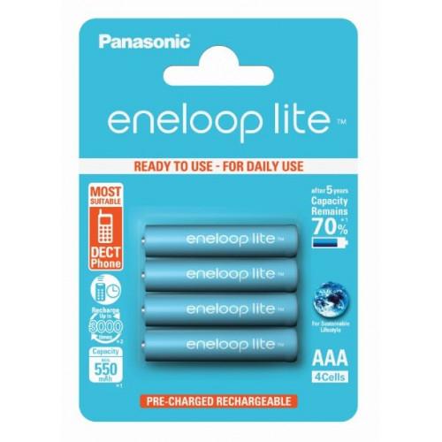 Eneloop Lite Blister de 4 piles rechargeables LR003 - 550mAh