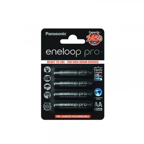 Eneloop Pro Blister de 4 piles rechargeables LR06-AA