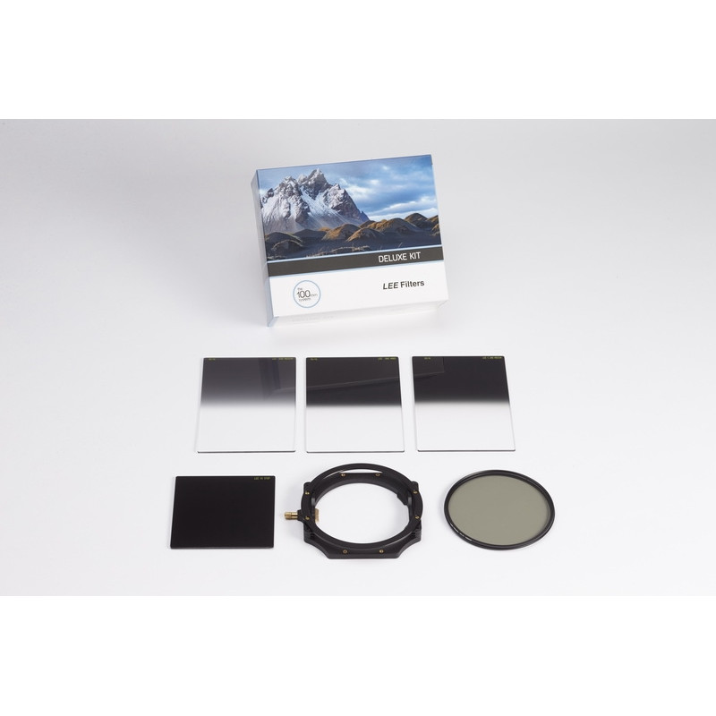 Lee Filters Kit Deluxe - porte-filtres 100 mm + 3x GND + CPL + big stopper