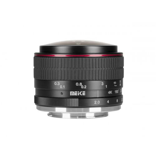 Meike objectif fisheye 6.5 mm f/2.0 pour Monture Sony E