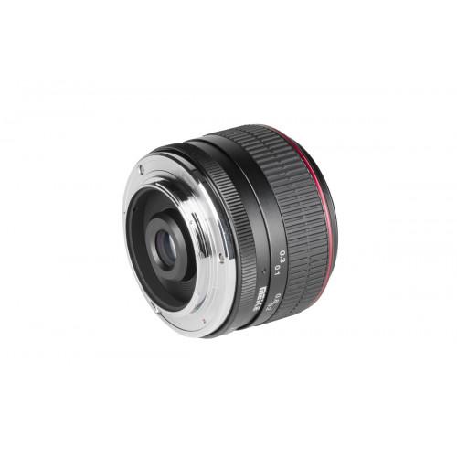 Meike lens 6.5 mm F2.0 Sony E mount