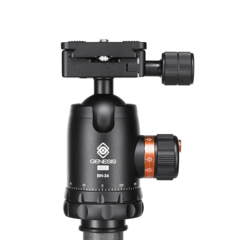 Genesis Base C1 Trépied + rotule BH-34 Kit (orange)