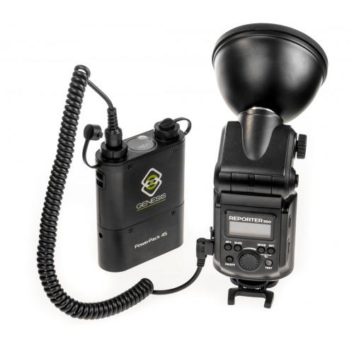 Genesis Reporter Kit flash torche 360M manuel HSS