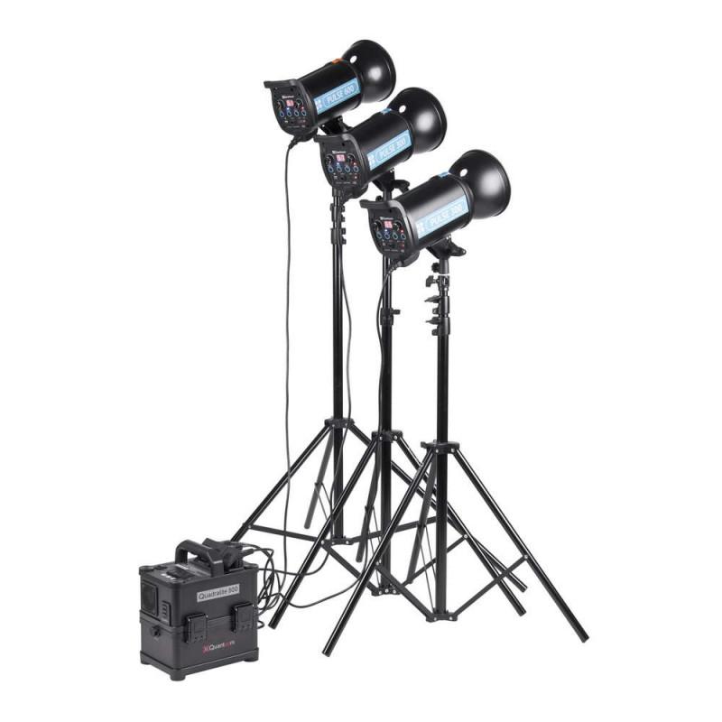 Quadralite Powerpack 800 Batterie et générateur pour flash de studio