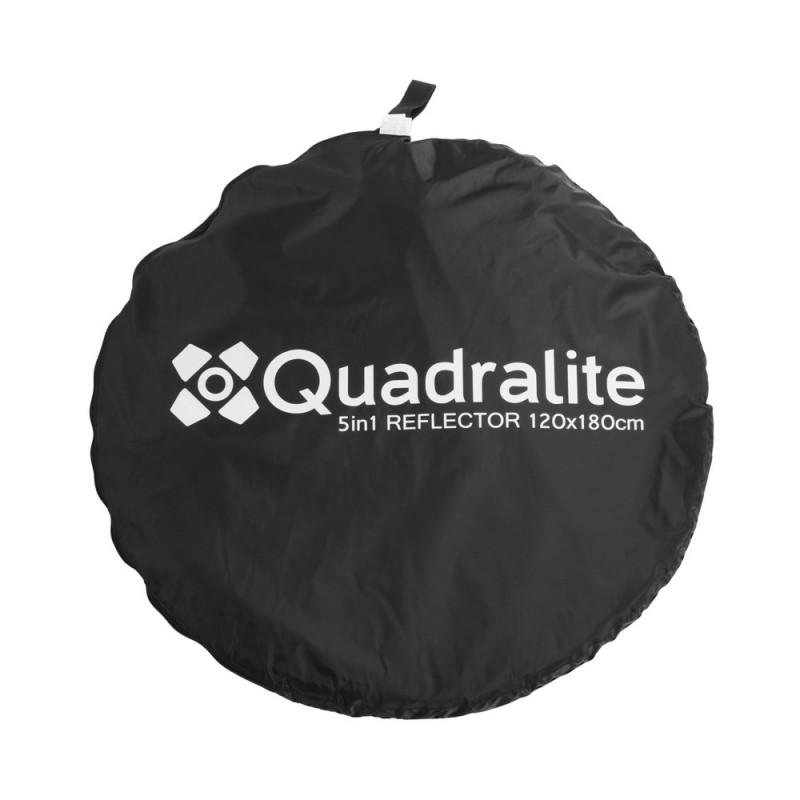Quadralite Réflecteur pliable 5 en 1 120x180cm