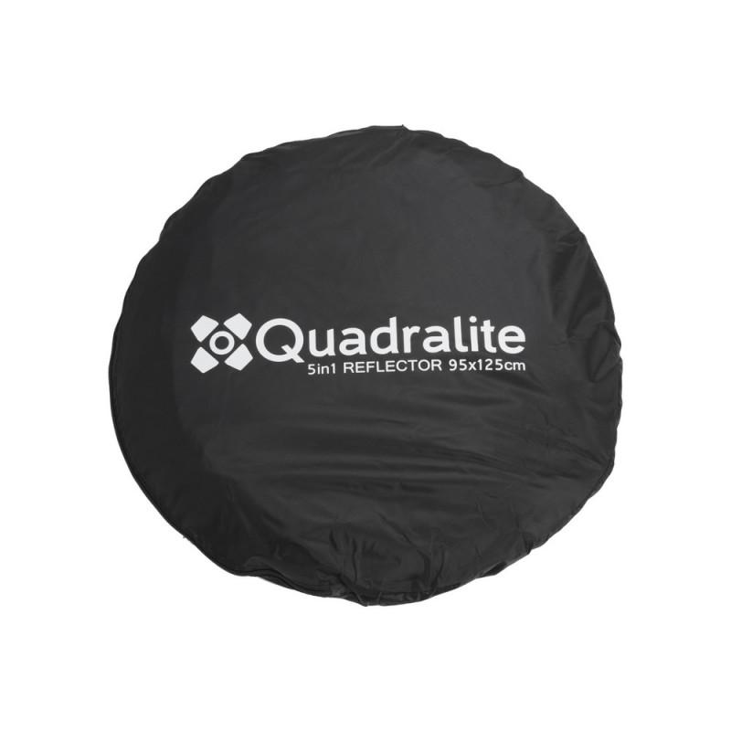 Quadralite Réflecteur pliable 5 en 1 95x125cm
