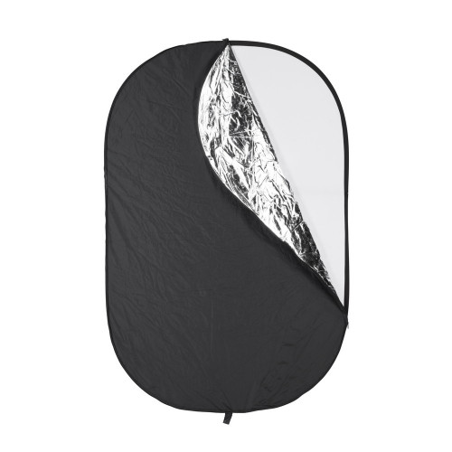 Quadralite Collapsible Reflector 5in1 95x125cm GRADE B