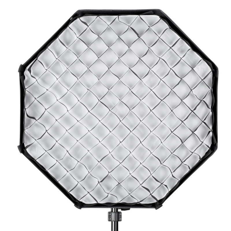 Quadralite Grille nid d'abeille pour boîte à lumière octagonale Octa 80 cm