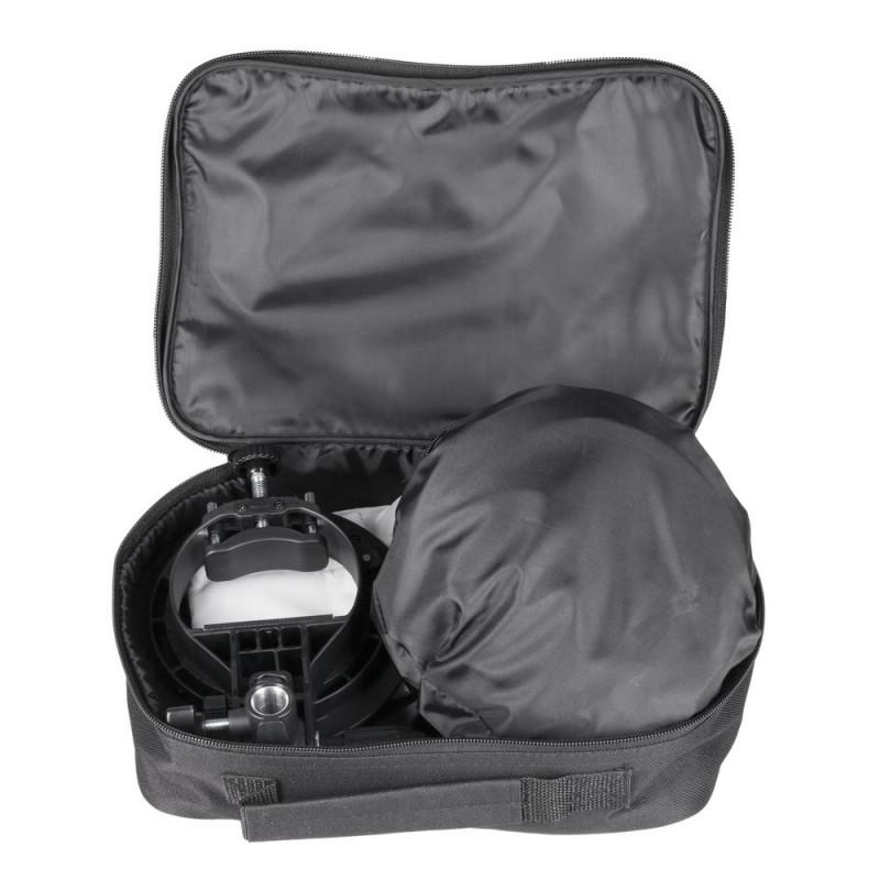 Quadralite Boîte à lumière Easy Litebox 50x50cm + fixation type S pour flash