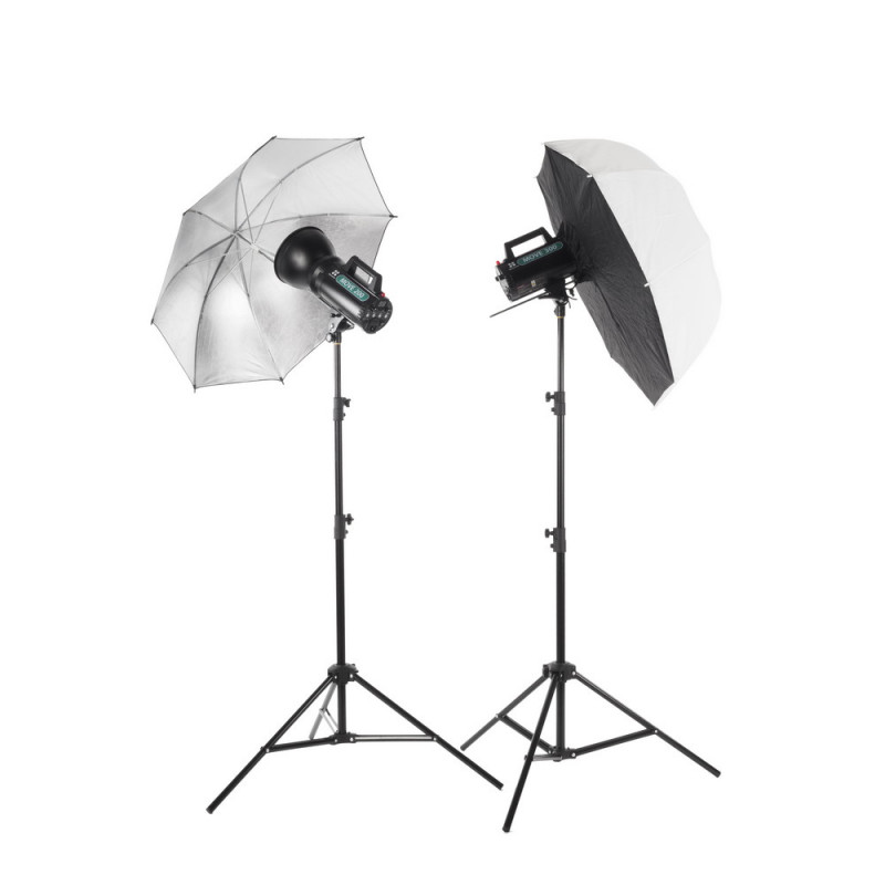 Quadralite Move 200 kit 2x 200ws flash de studio