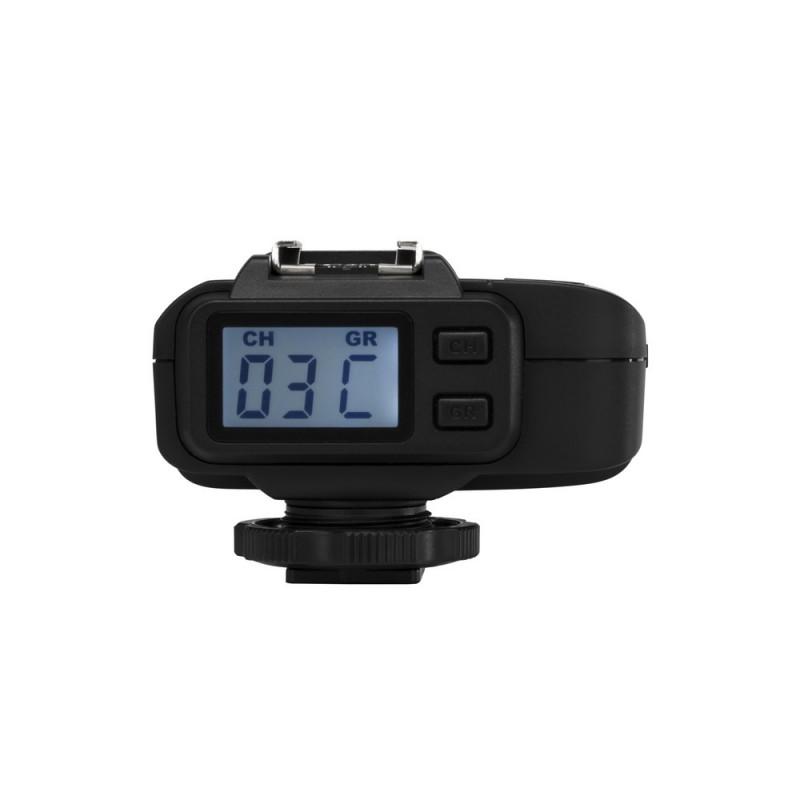 Quadralite Navigator X i-TTL kit émetteur + récepteur de flash pour Nikon