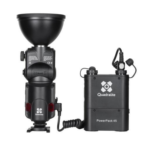 Quadralite Reporter 180 kit