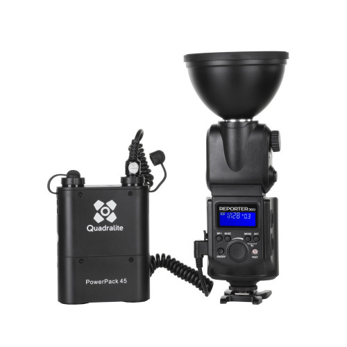 Quadralite Reporter 360 kit