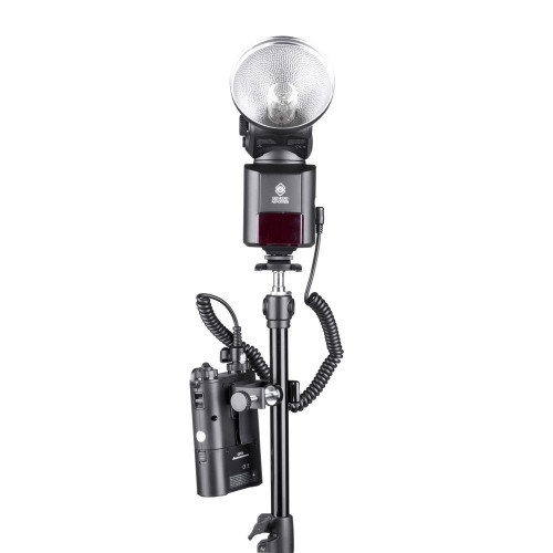 Quadralite Reporter tripod clamp for PowerPack 45