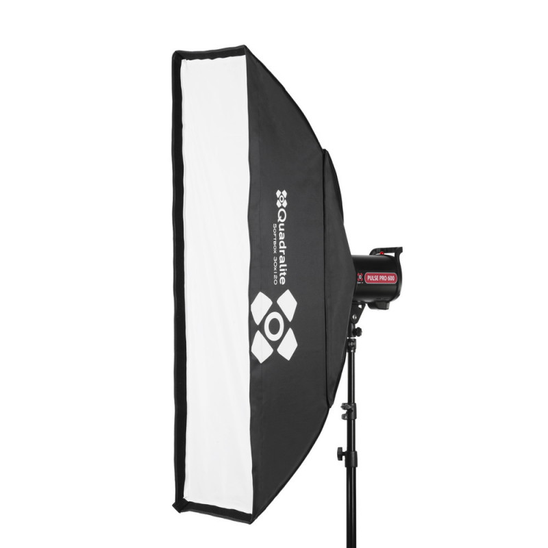 Quadralite Boîte à lumière stripbox 30x120 cm