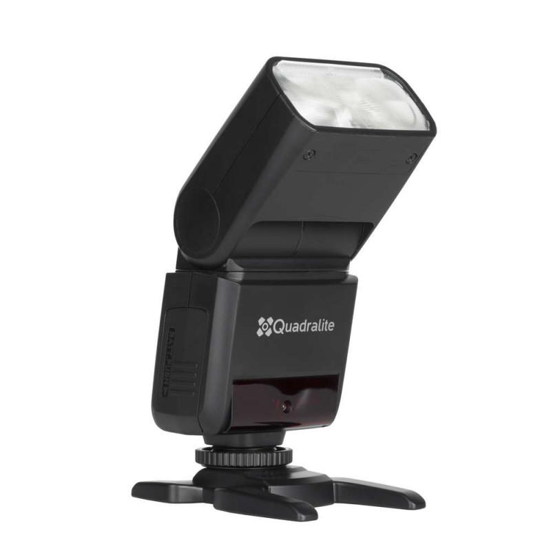 Quadralite Stroboss 36 TTL Flash cobra HSS pour Canon