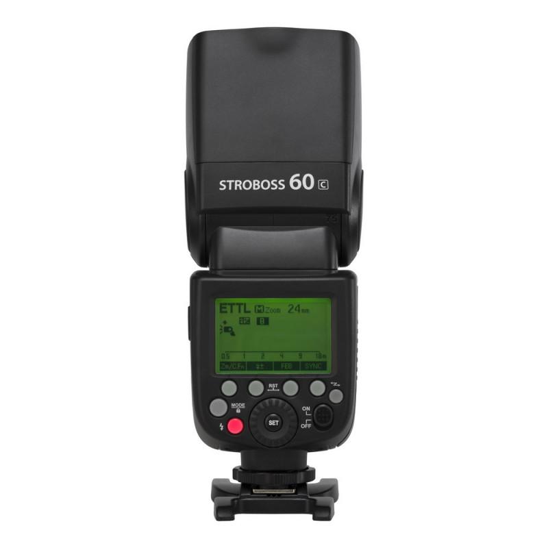 Quadralite Stroboss 60C Flash cobra pour Canon
