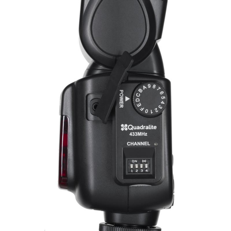Quadralite FT-16s Stroboss Navigator Kit de déclencheur (émetteur + récepteur) pour flash cobra
