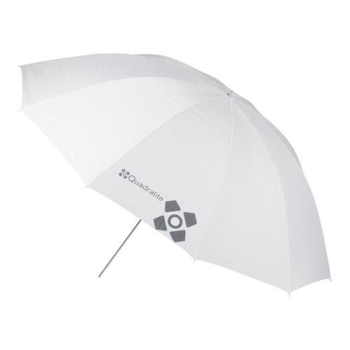 Quadralite Parapluie réflecteur photo 150 cm blanc/translucide