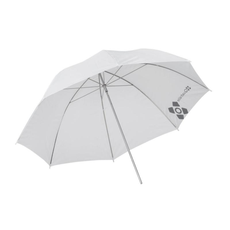 Quadralite Parapluie réflecteur blanc/translucide 91cm