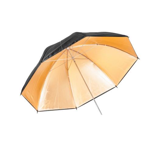 Quantuum parapluie réflecteur doré 120 cm