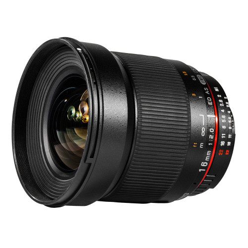 Samyang objectif 16 mm f/2.0 ED AS UMC CS pour Canon M