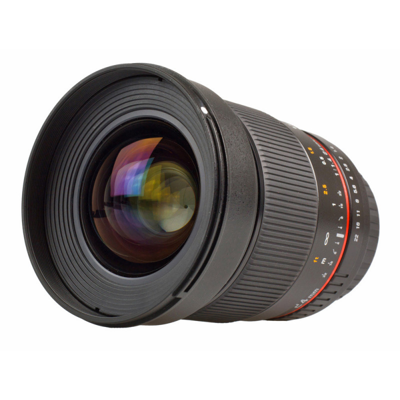 Samyang objectif 24 mm f/1.4 ED AS UMC IF AE pour Nikon
