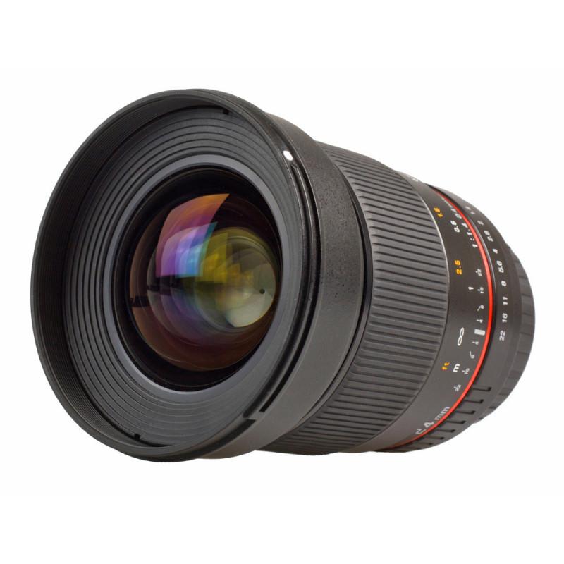Samyang objectif 24 mm f/1.4 ED AS UMC pour Pentax