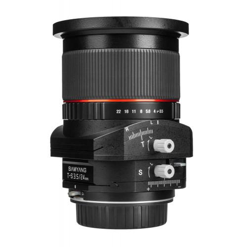 Samyang 24 mm F3.5 Tilt-Shift Canon