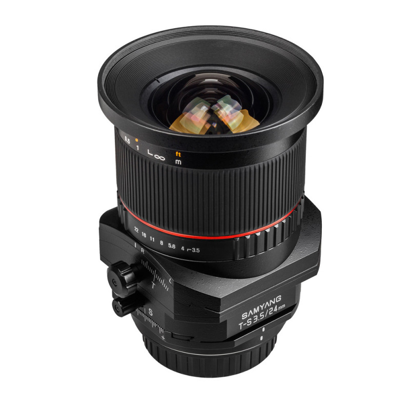 Samyang objectif 24 mm f/3.5 Tilt and shift T-S ED AS UMC pour Sony A