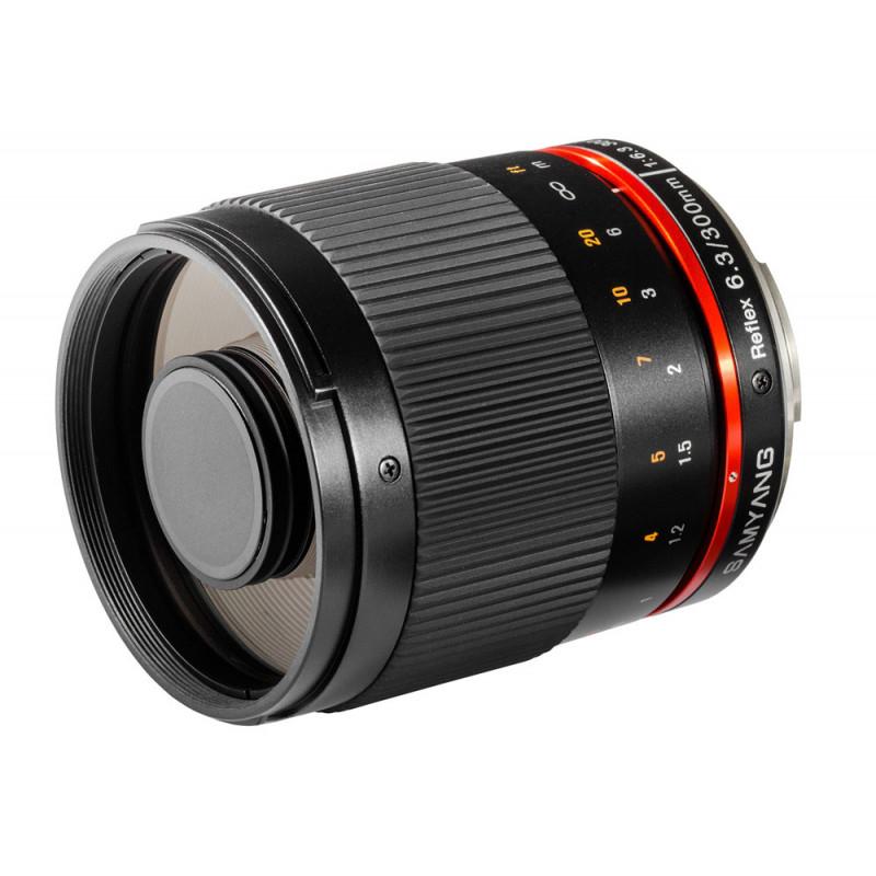 Samyang objectif 300 mm f/6.3 ED UMC CS Reflex pour Fuji X (noir)