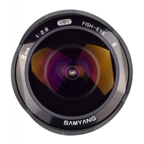 Samyang 8 mm F2.8 Sony E silver Fish-eye