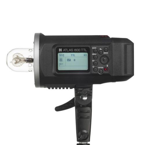 Quadralite Atlas 600TTL / AD 600 TTL Flash de studio TTL monobloc avec batterie 8700mAh